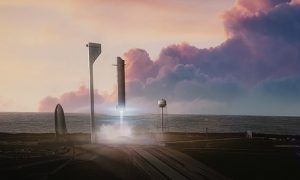 Interplanetary Transport System. Credit: SpaceX