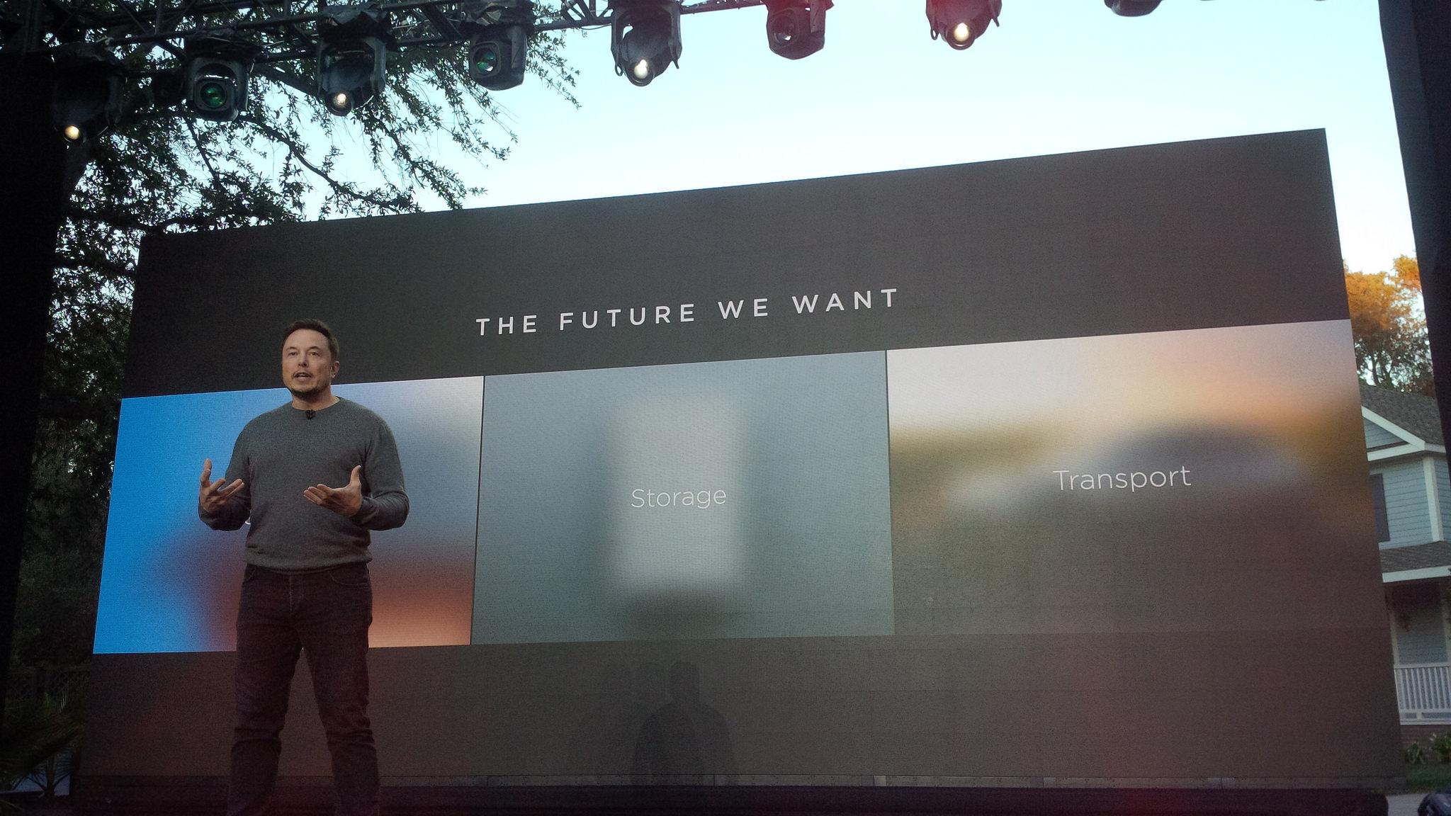 Elon Musk unveils Tesla solar roof tiles