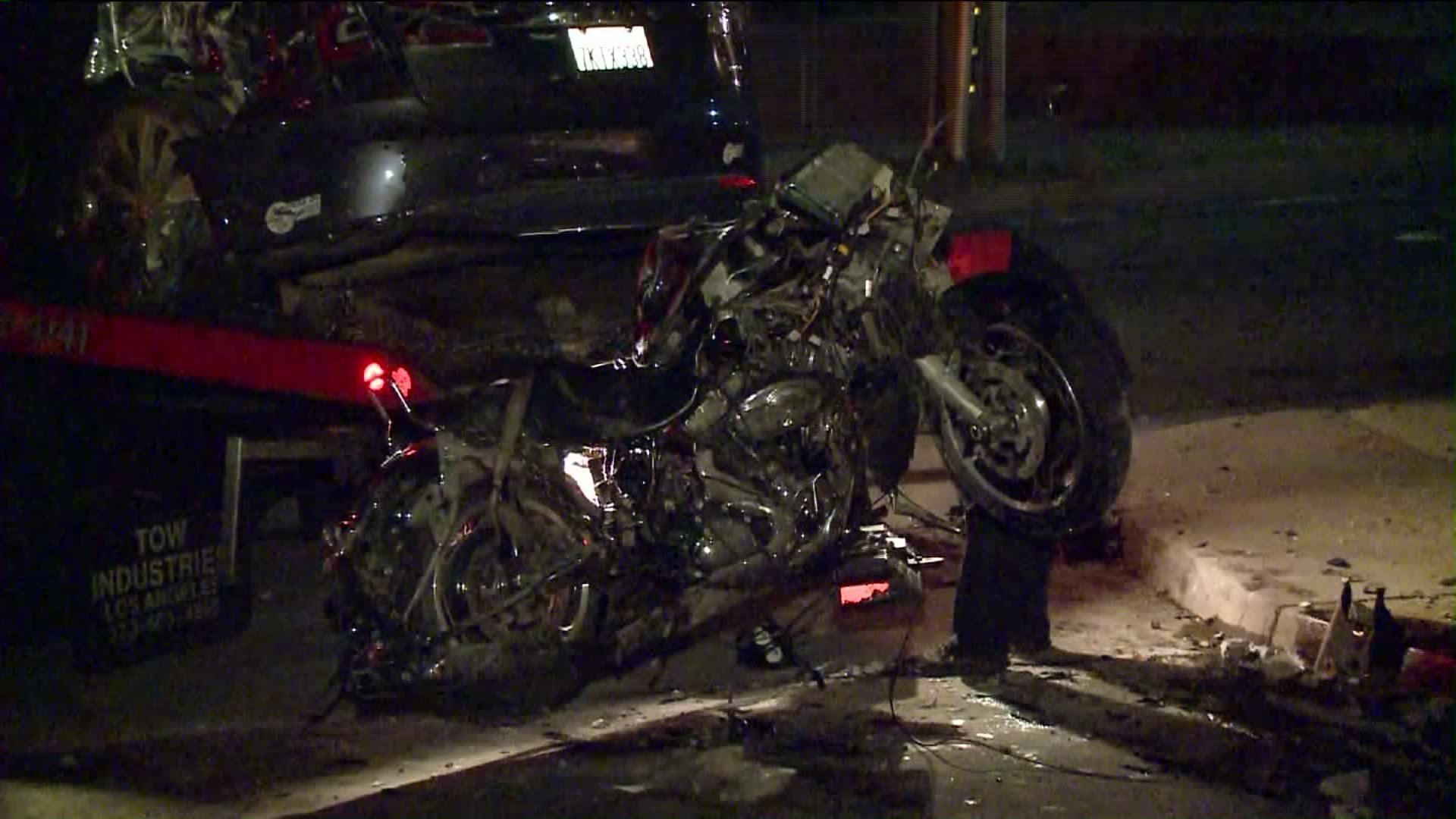 tesla-crash-motorcycle-hit-run-fatality