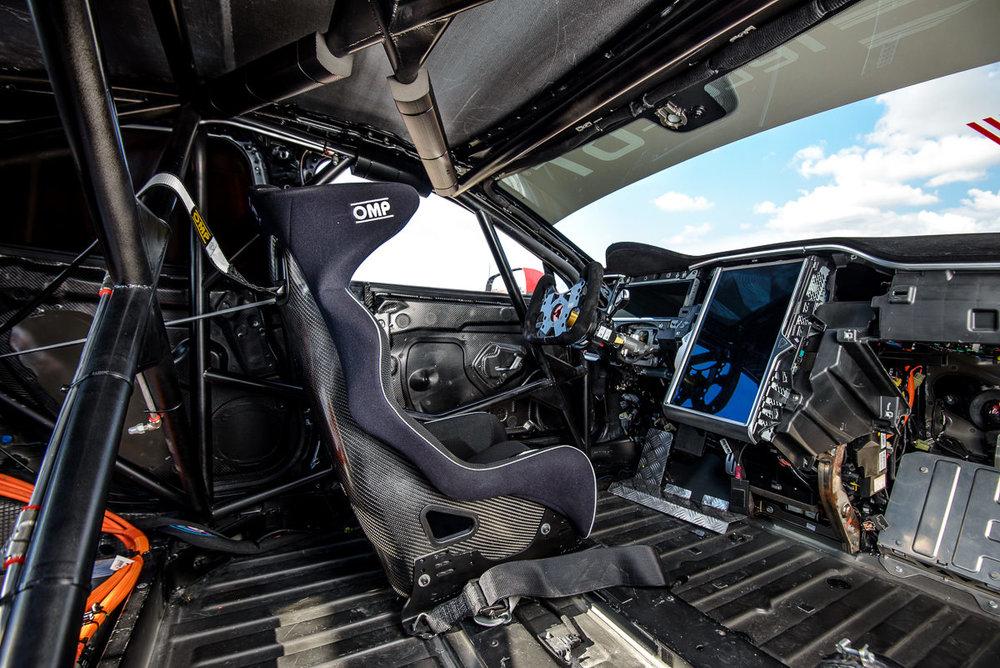 Tesla Model S P85+ Electric GT Interior