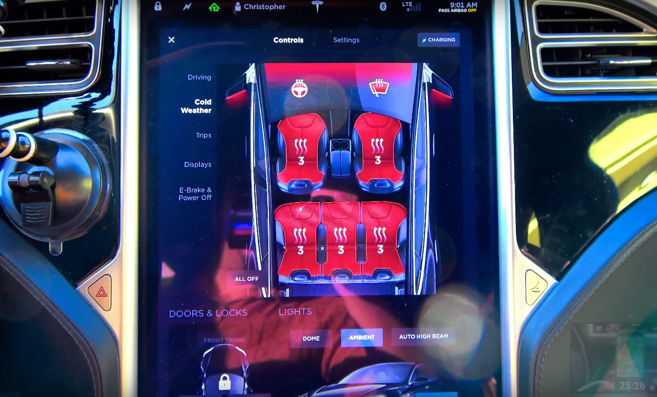 Tips For Staying Warm In Your Tesla This Winter Without Killing Battery Range