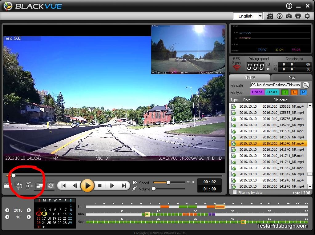 tesla-pittsburgh-dashcam-review-thinkware-f770-camera-viewer-blackvue