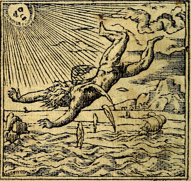 "The Flight of Icarus inspired the NatGeo rocket ship ""Daedalus"""