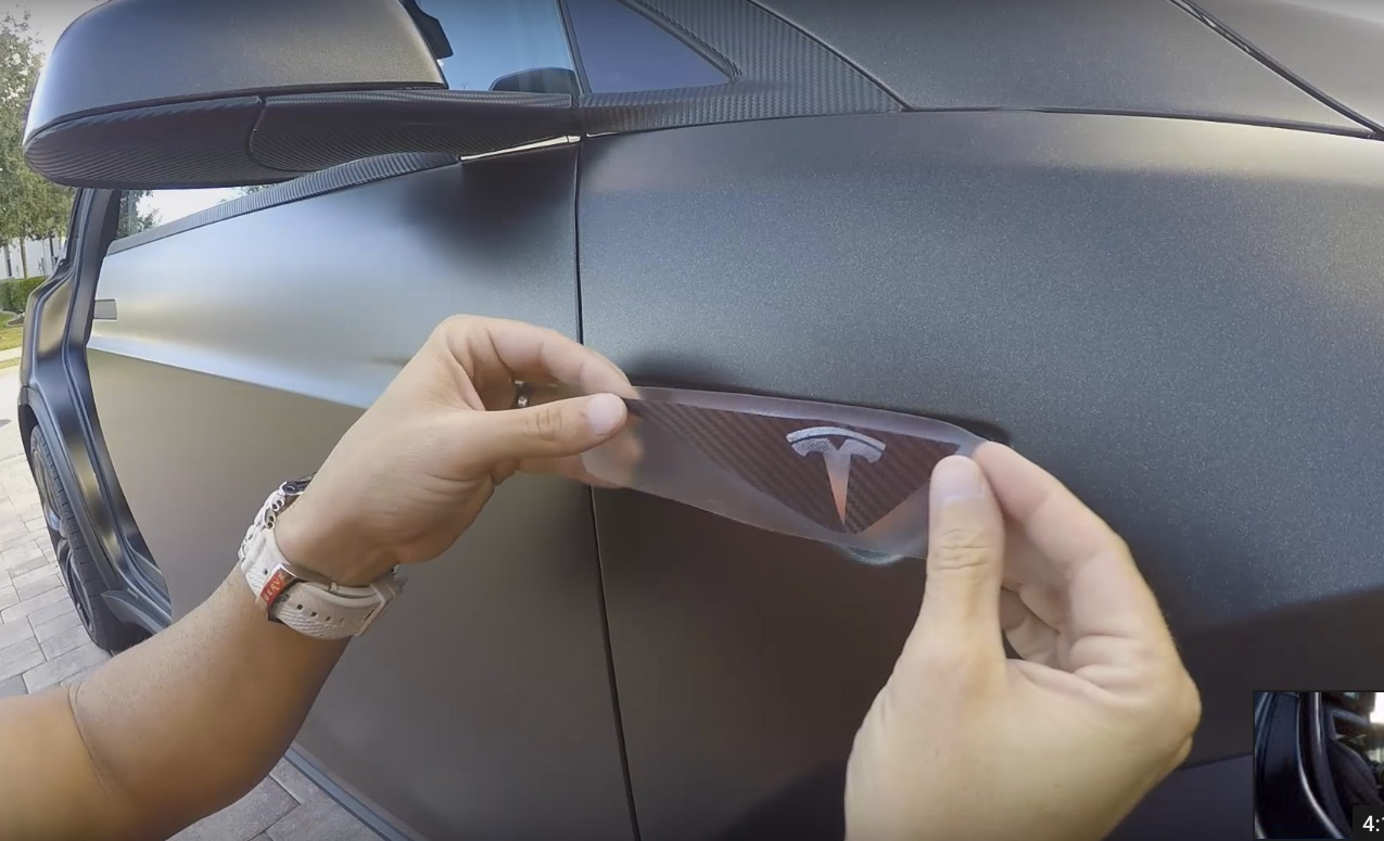 DIY Create Your Own Custom Tesla Turn Signal Indicator Decal - How to make homemade decals for cars