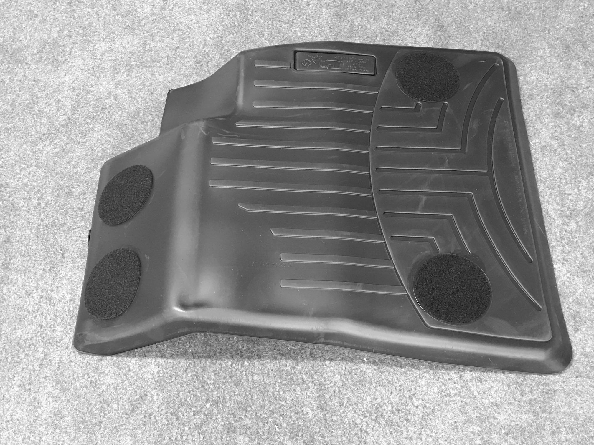 Driver side floor liner mat (Backside)