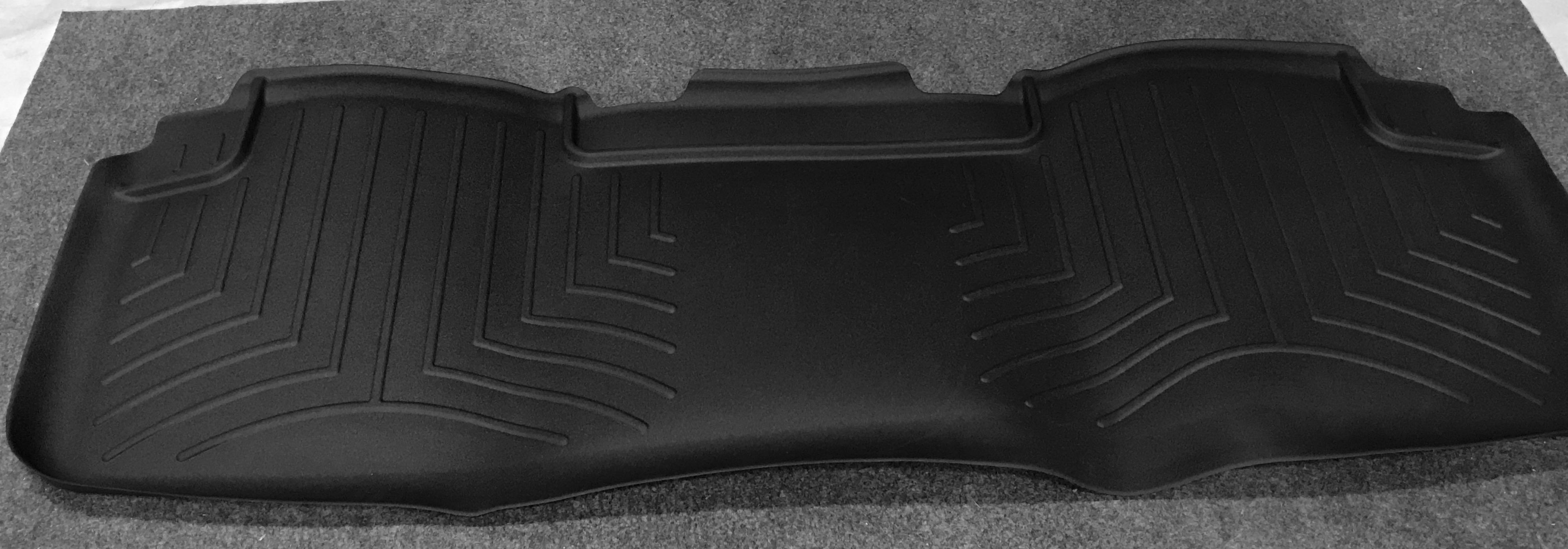 2nd row floor liner mat