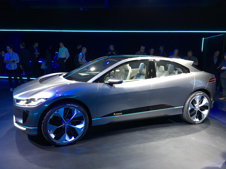 Inside the Jaguar I Pace electric crossover VR press event