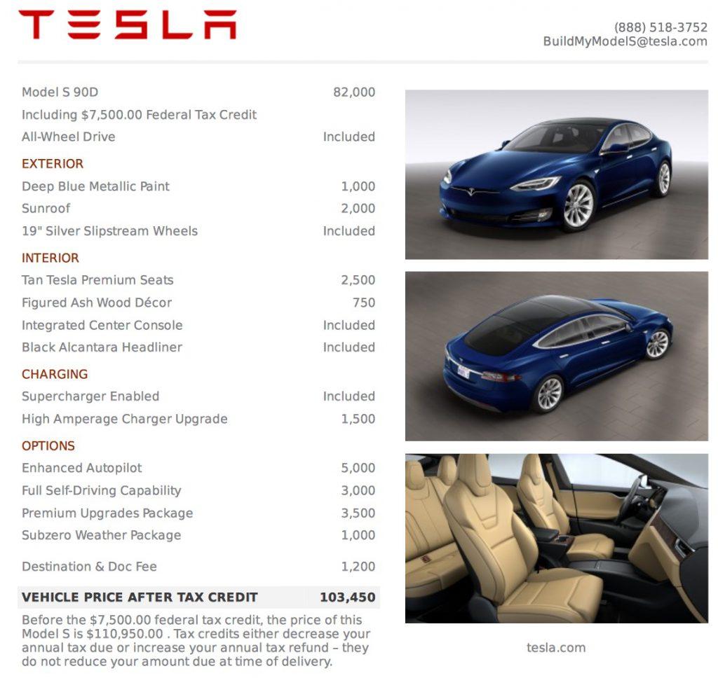 model-s-90d-price-list