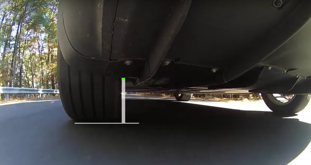 Tesla Model X negative camber 'Very Low'
