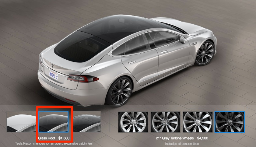 Tesla Model S receives Model 3-like Glass Roof option