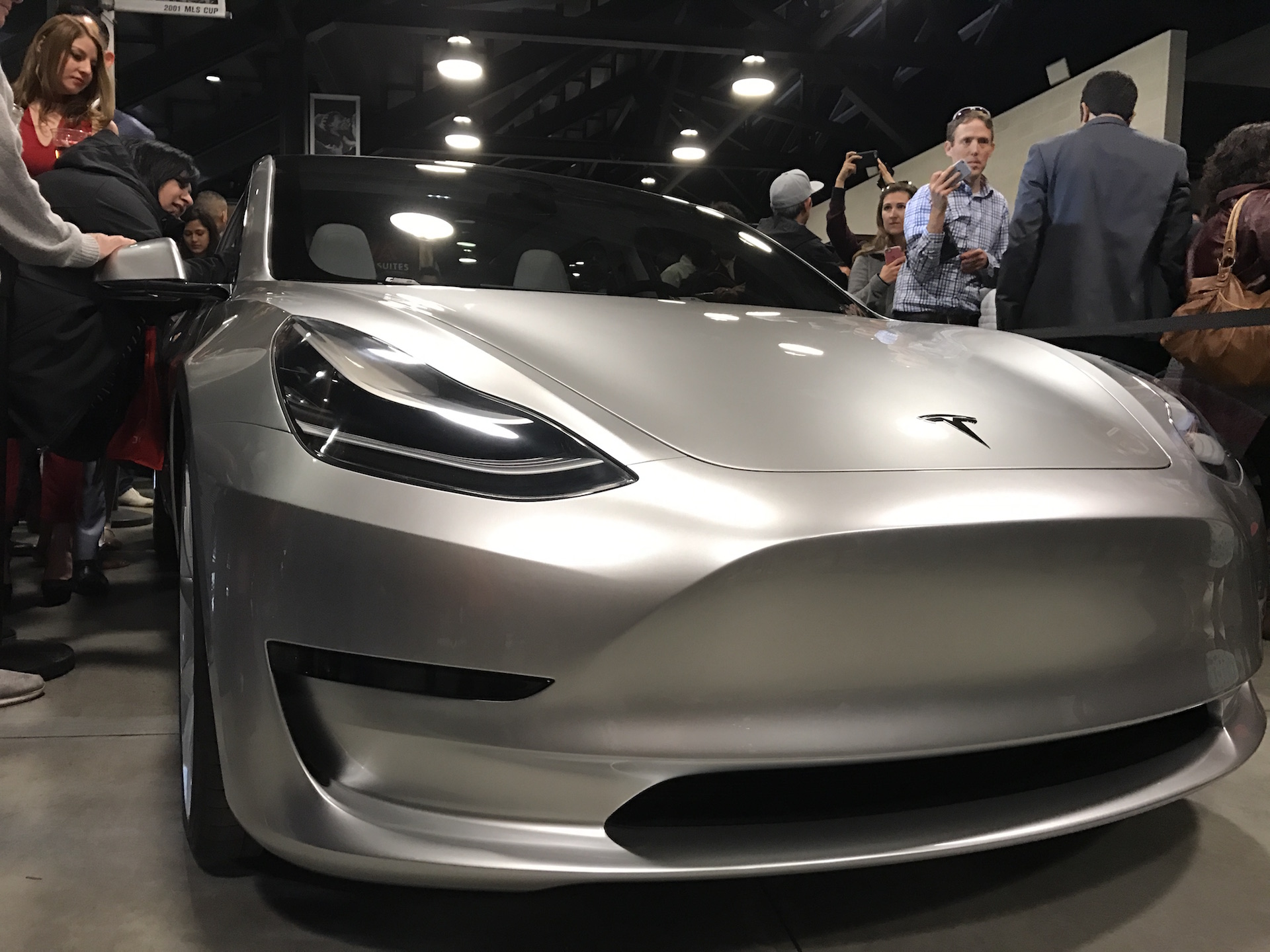 silver-tesla-model-3-front-employee-party-4