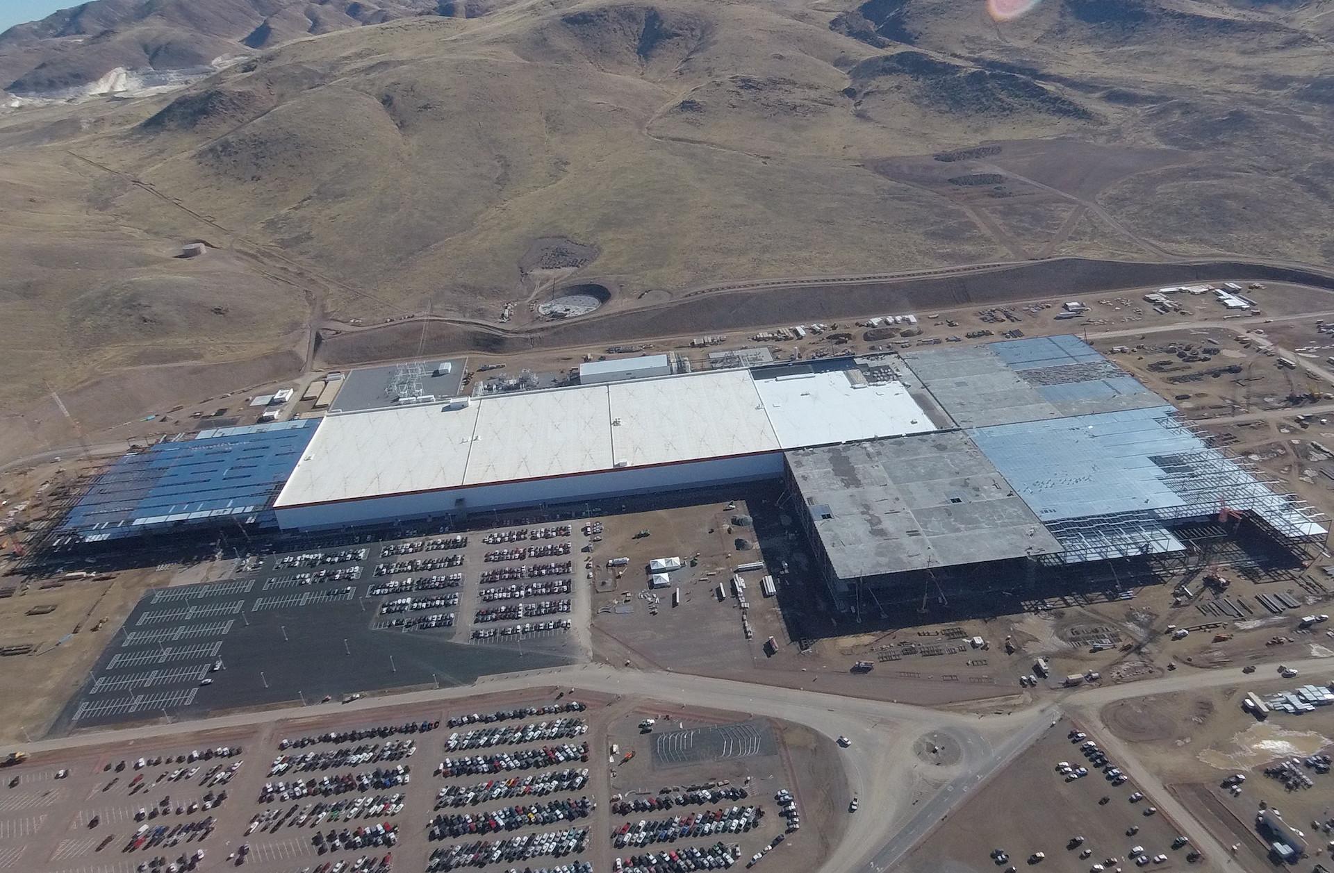 Tesla Gigafactory, Nov 2, 2016