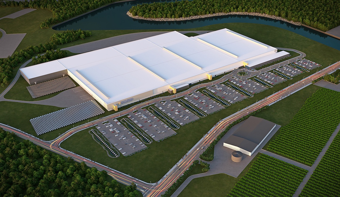 Tesla Gears Up For Solar Roof Production At Gigafactory 2