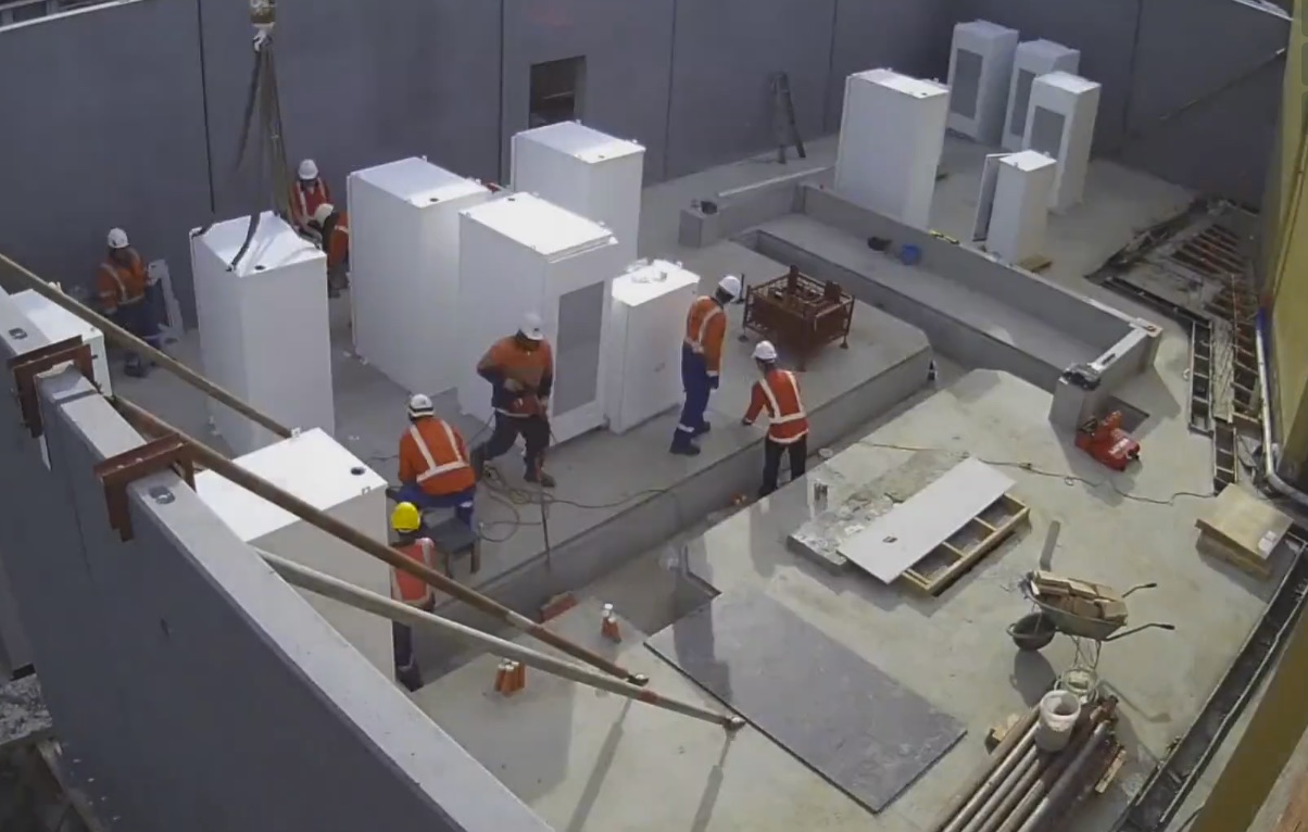 What It Takes To Build A Tesla Powerpack Grid Scale