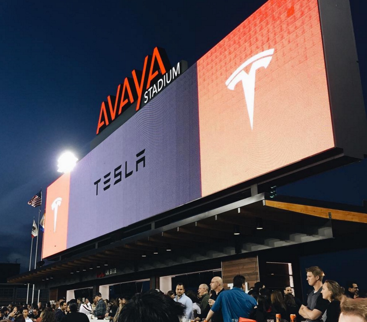 tesla-employee-friends-family-party-avaya-stadium