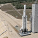 Falcon Heavy on Launch Pad 39A   Credit: SpaceX