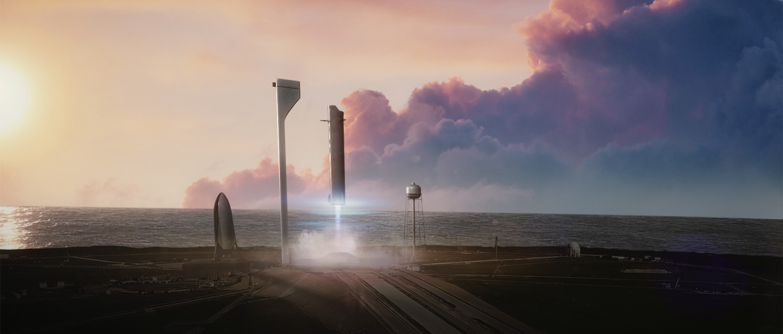 SpaceX ITS Stage 1 landing graphic | Credit: SpaceX