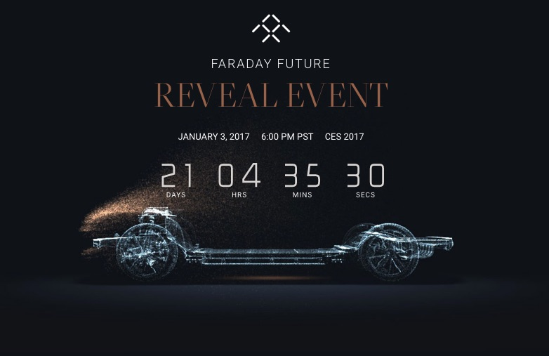 Faraday Future Will Live Stream Its Car Unveiling On