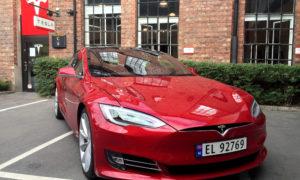 Model S in Norway