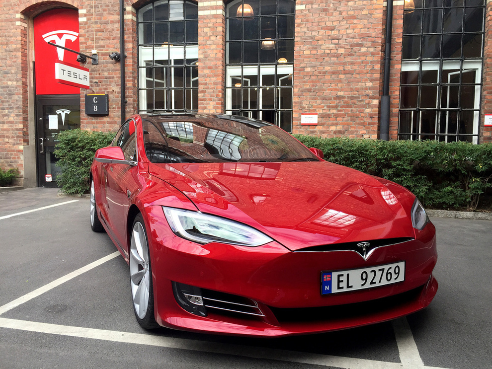 Model S in Norway