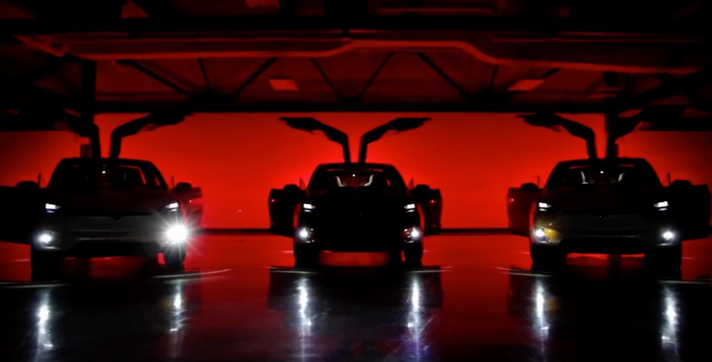 Tesla-Model-X-easter-egg-dancing-holiday