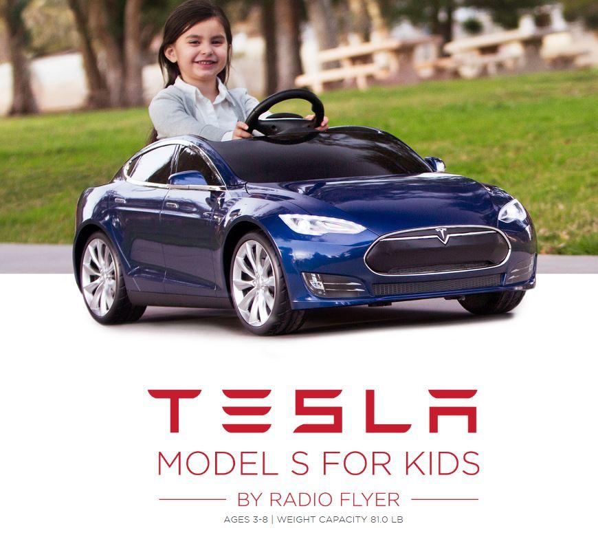 Tesla Radio Flyer