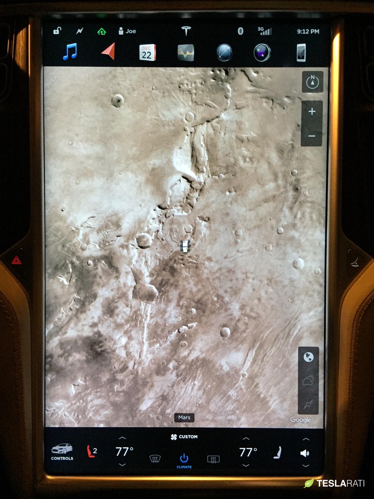 Tesla-mars-easter-egg-rover