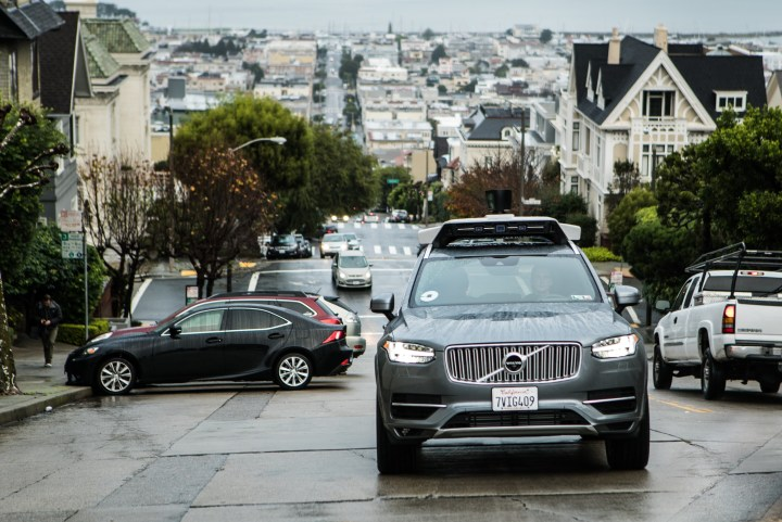 Uber launches self-driving pilot in San Francisco with Volvo Cars