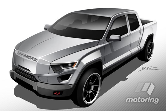 Workhorse W-15 PHEV pickup concept