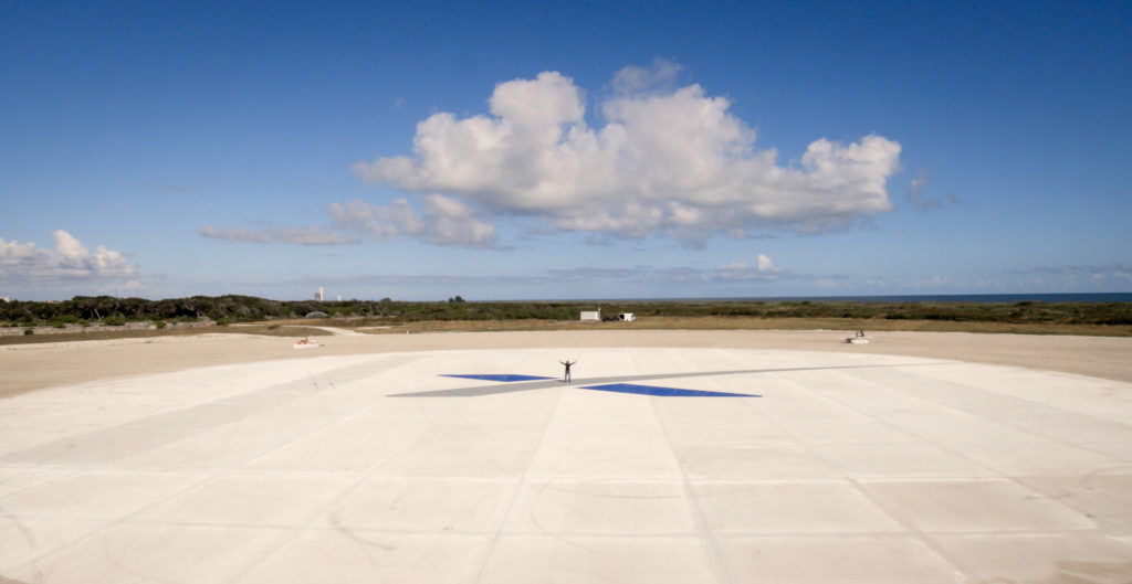 Landing Zone 1 for Falcon 9 | Credit: SpaceX