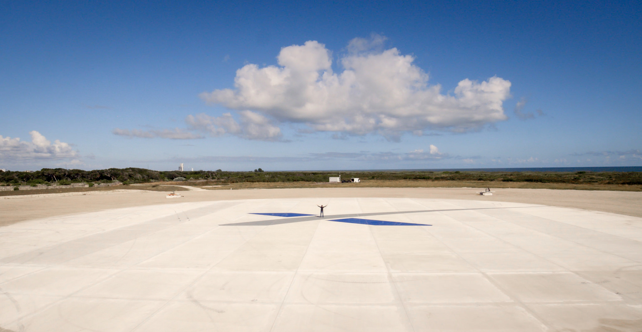 Landing Zone 1 for Falcon 9   Credit: SpaceX