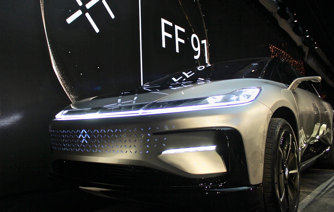 Faraday Future Scales Back Plans For North Las Vegas Factory
