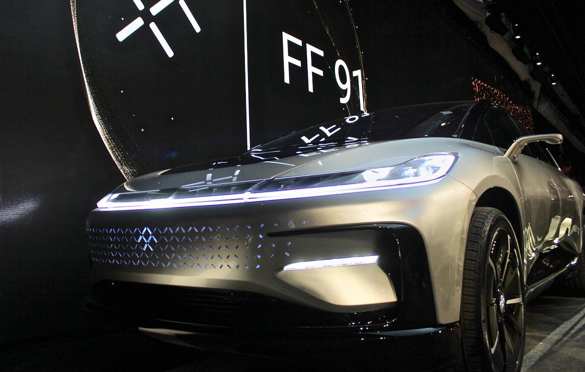 Faraday-Future-FF-91-front-quarter-nose