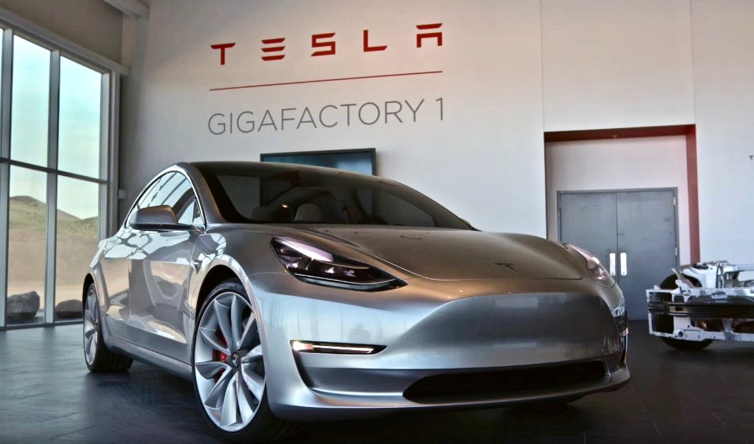 tesla readies for model 3 production in july initial crash test results positive. Black Bedroom Furniture Sets. Home Design Ideas