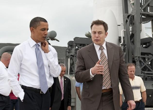 President-Obama-Elon-Musk