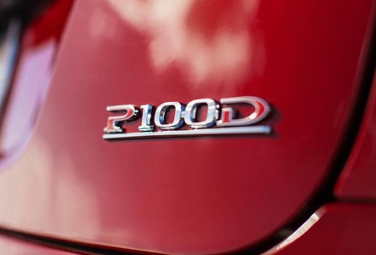 Red-Tesla-P100D-logo-badge
