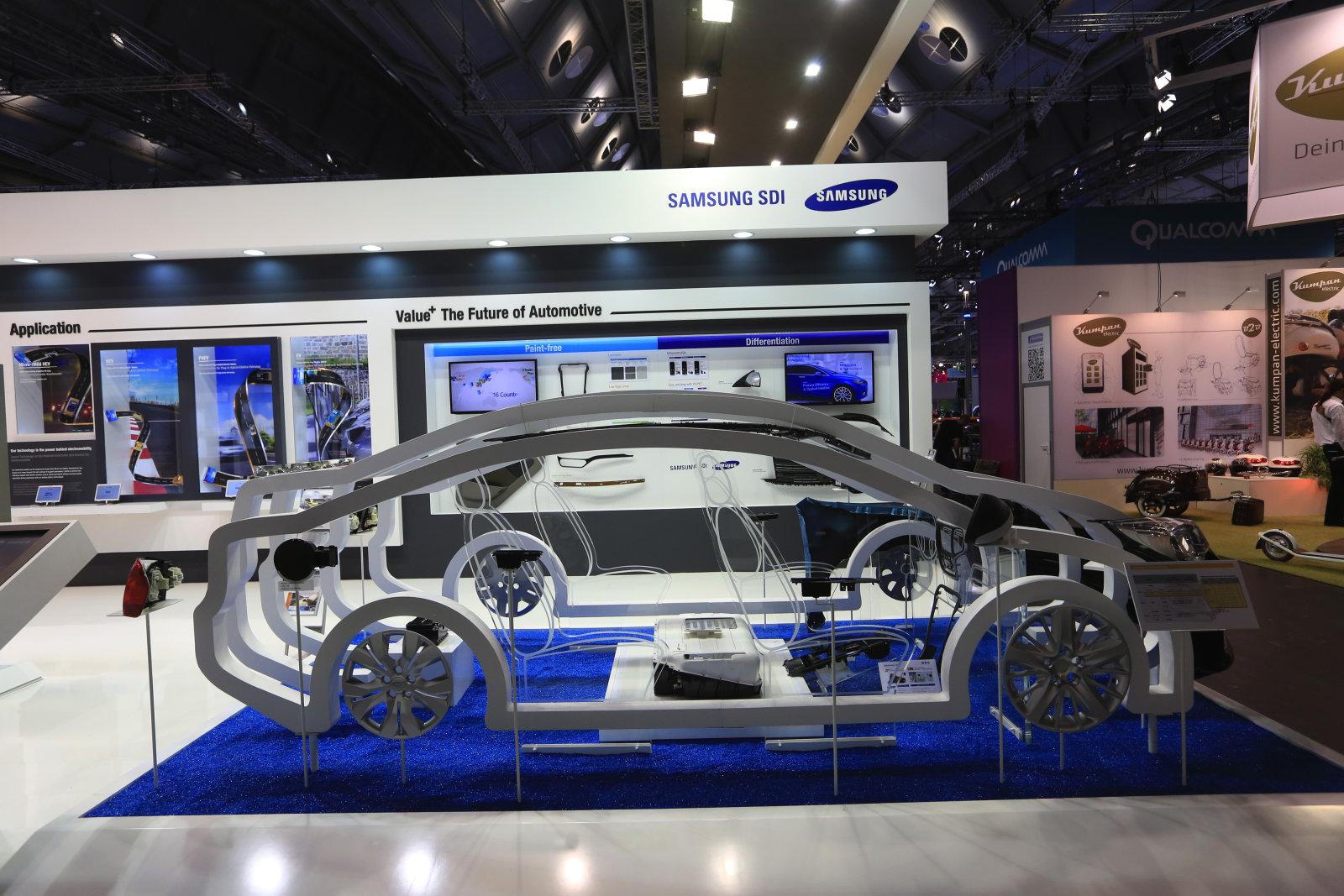 Samsung-SDI-booth-EV-battery