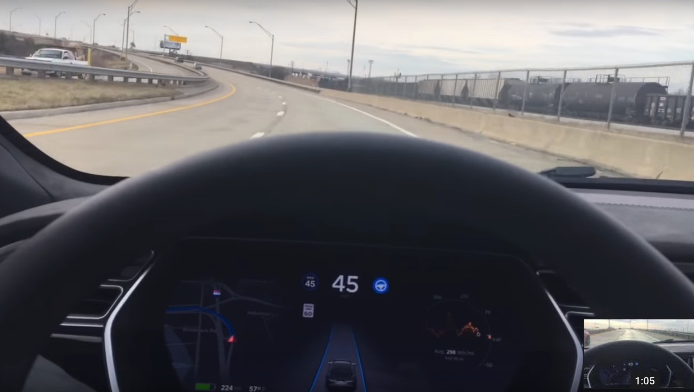 Tesla Enhanced Autopilot Autosteer Unu  Updated Dou Modelfalcon