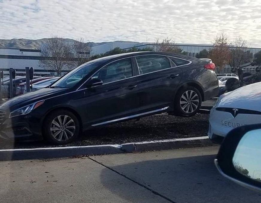 Tesla-Fremont-Factory-Parking-Lot