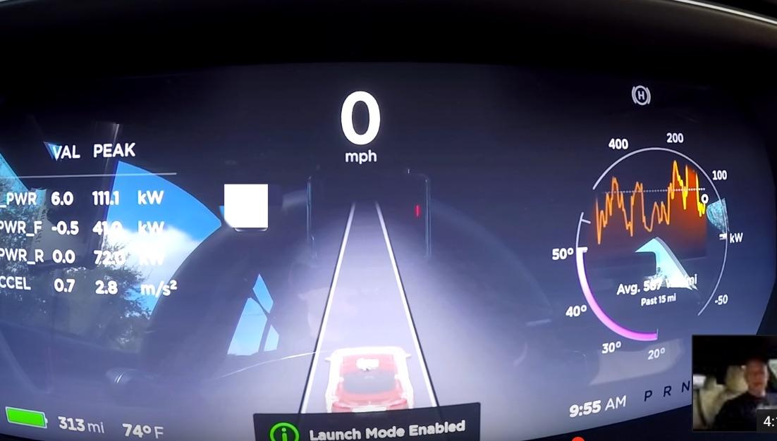 Tesla-P100D-Ludicrous-plus-launch-mode