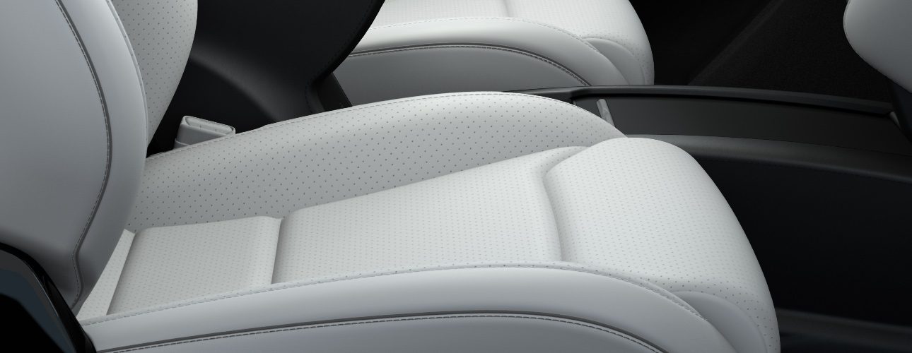 Small Perforations Can Be Seen On The Seat Cushions Of Tesla S Ventilated Front Seats