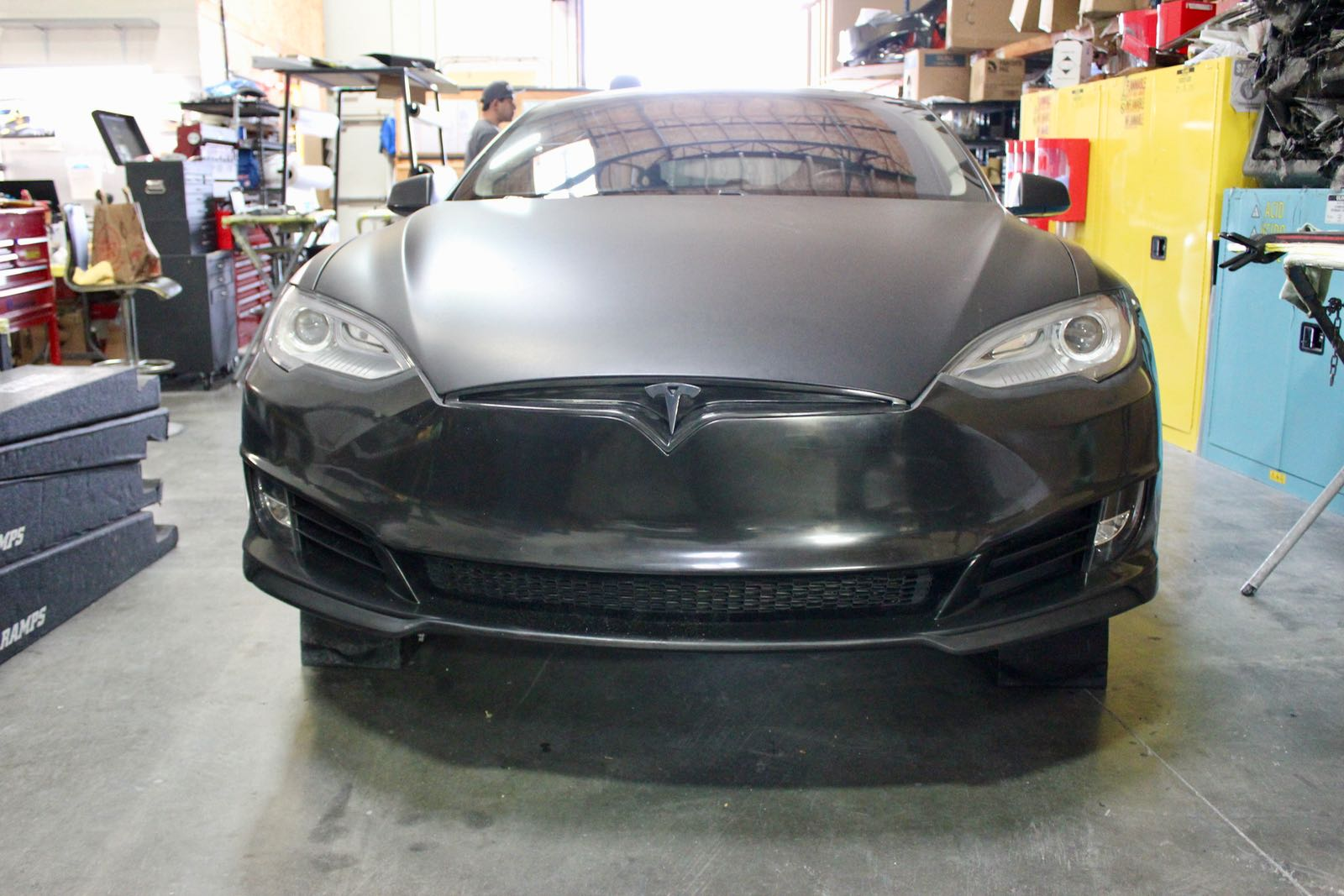 Unplugged-Performance-Model-S-refresh-front-fascia-install-1