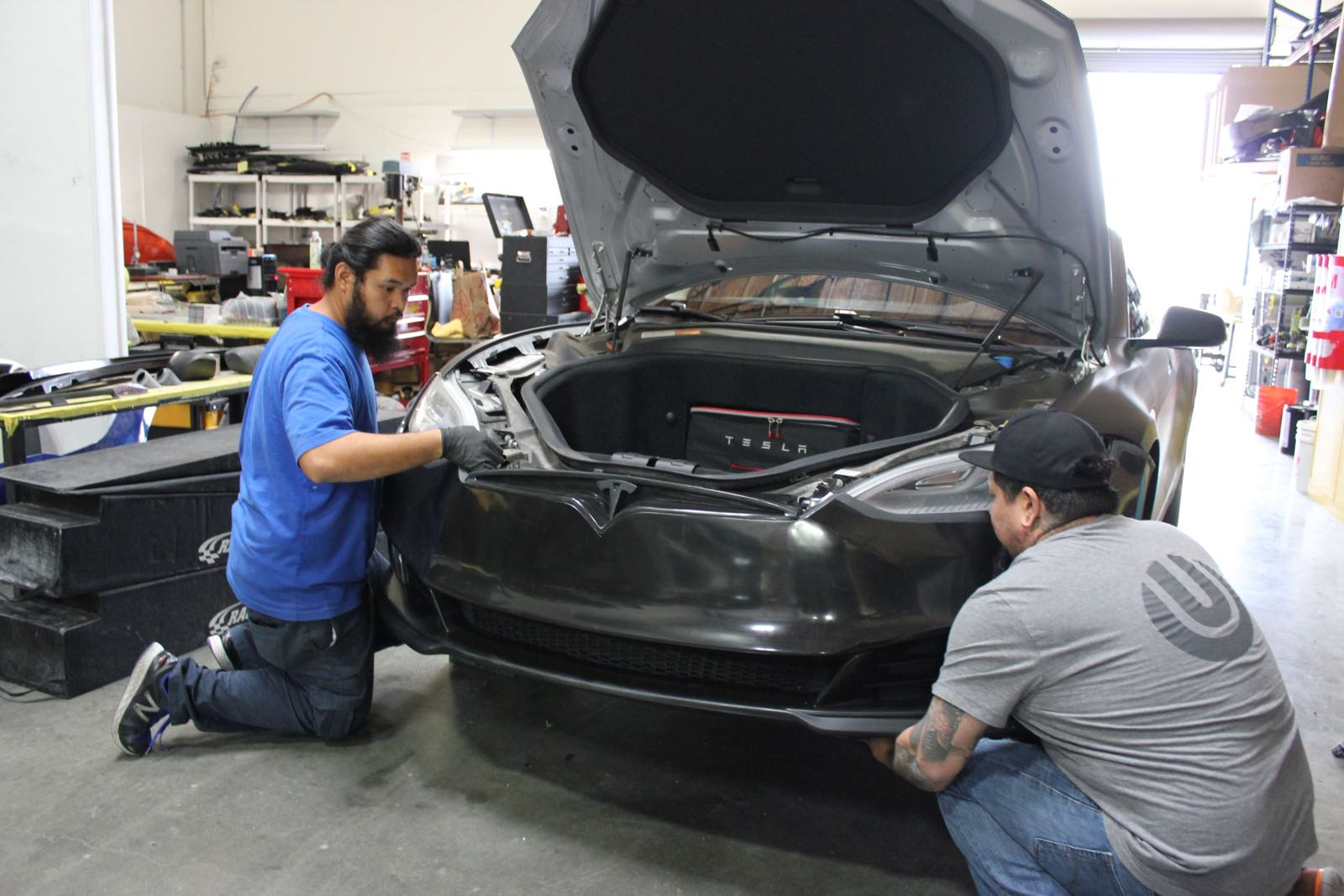 Unplugged-Performance-Model-S-refresh-front-fascia-install-3