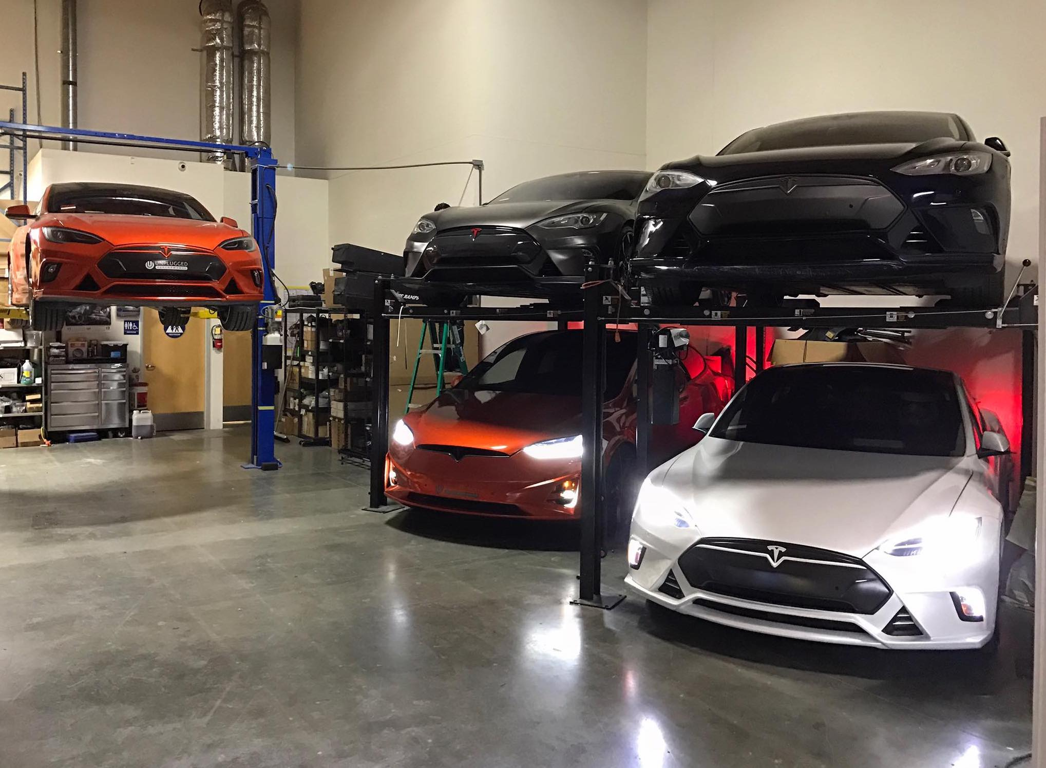Unplugged-Performance-tuner-Tesla-fleet