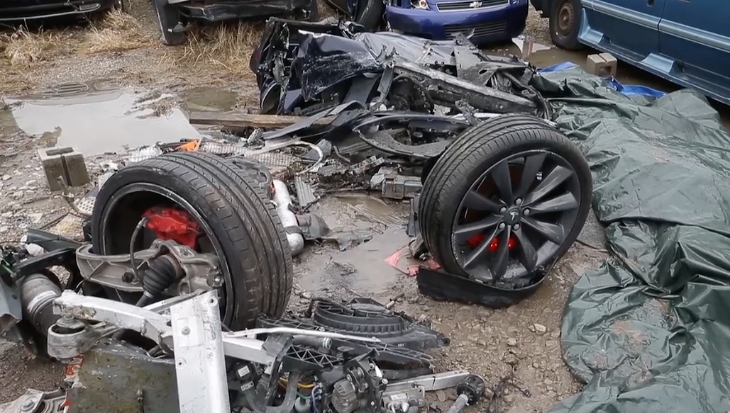 Tesla Car Crash So Far