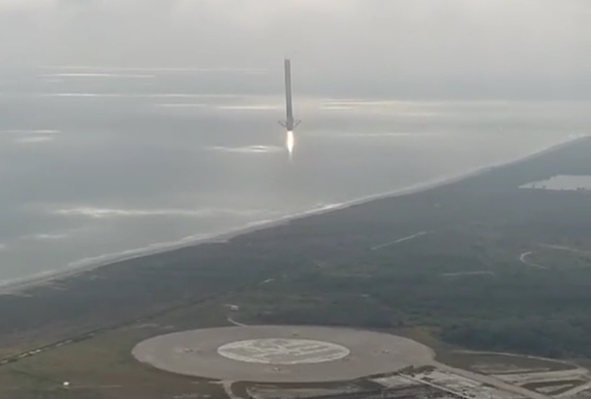 SpaceX-Falcon-9-landing-legs-drone-video