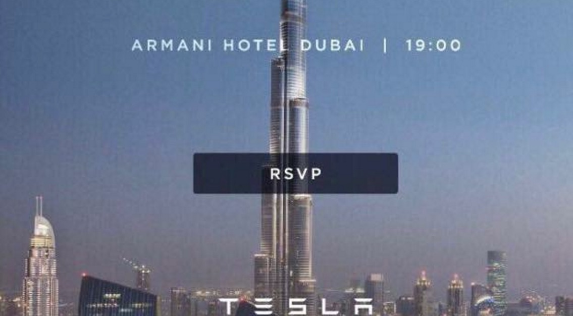 Tesla-Dubai-launch-event