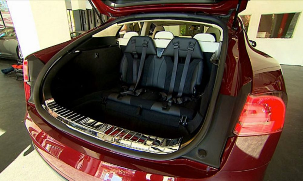Tesla Model S Rear Facing Child Seats Lead To False