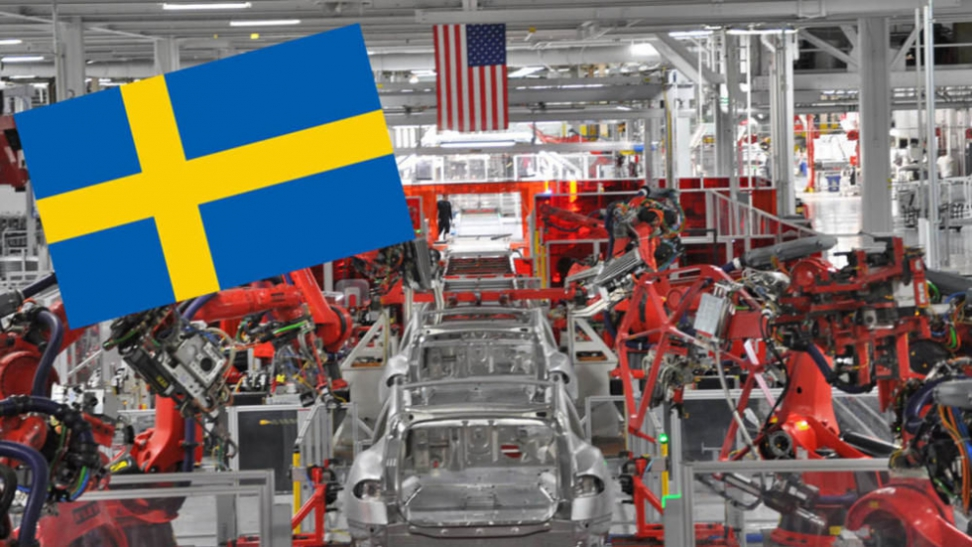 Tesla factory in Sweden