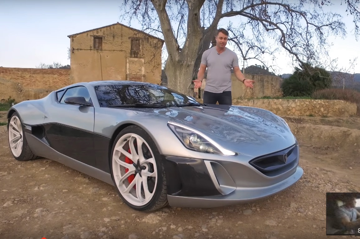 Autoblog Test Drives 1 2m Rimac Concept One In The